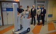 Zakład Radiologii z nowoczesnym mobilnym aparatem RTG