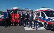 Nowe karetki z BOM są już w Mazowieckim Szpitalu Specjalistycznym  w Radomiu